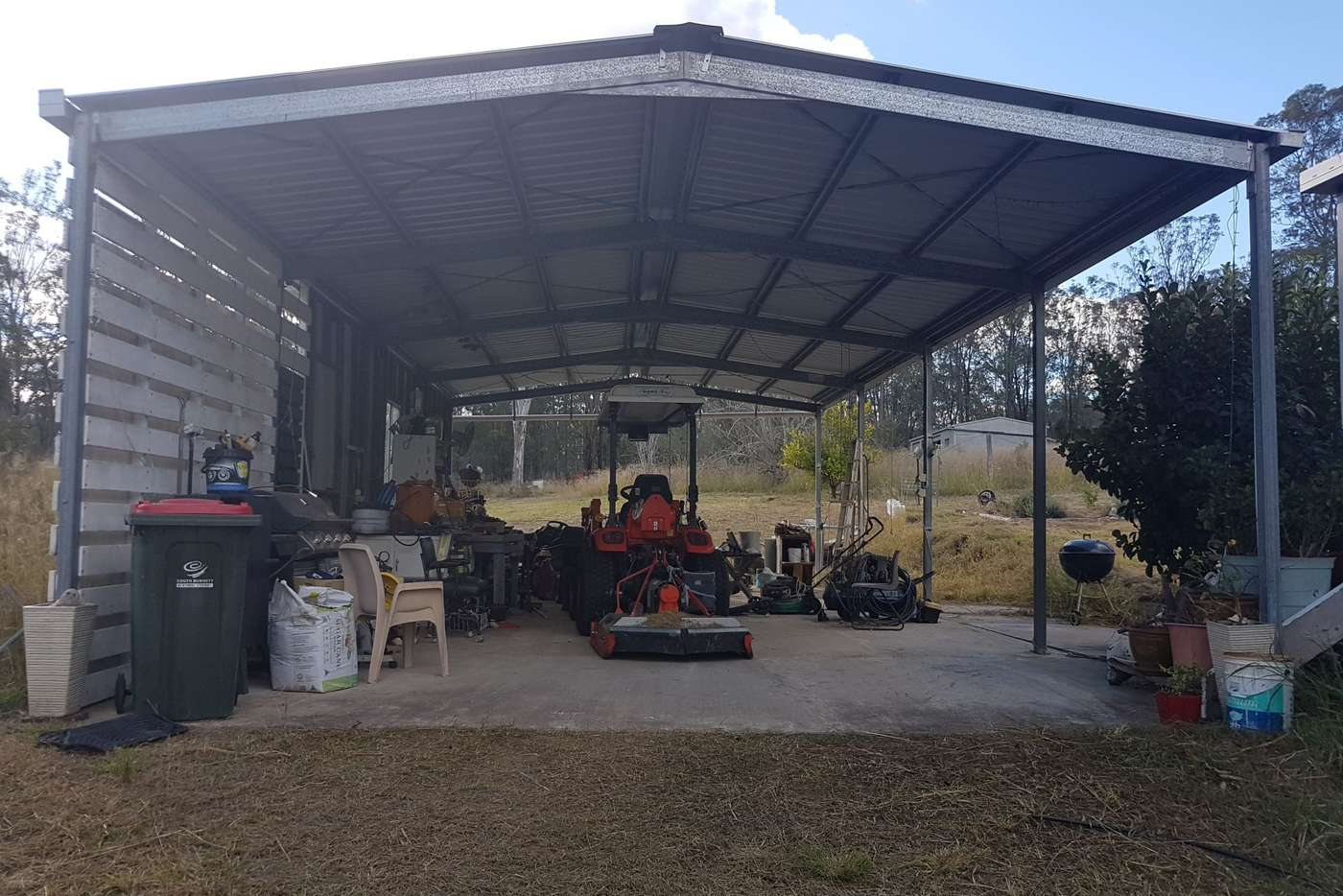 Main view of Homely acreageSemiRural listing, 458 Kumbia Road, Brooklands QLD 4615