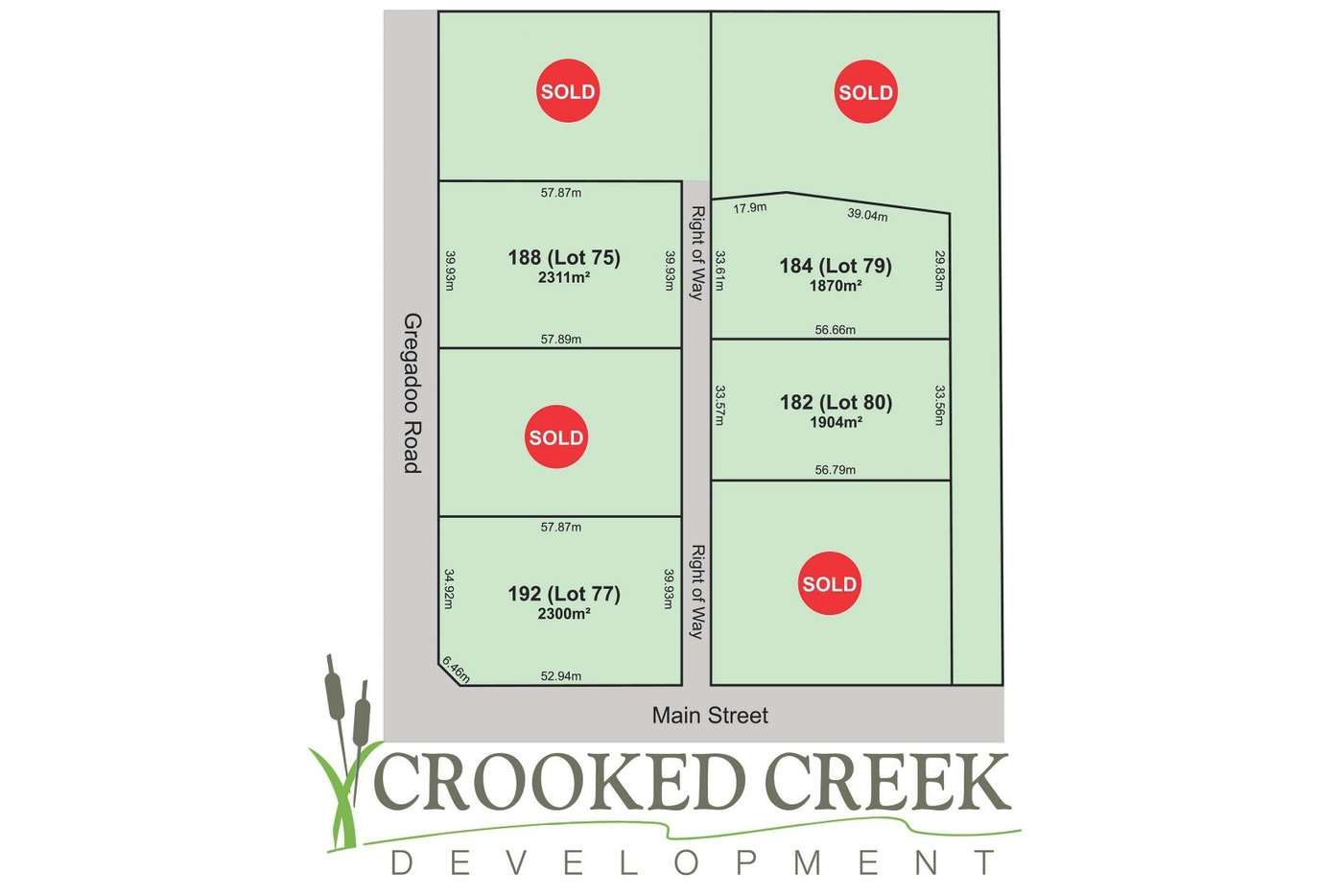 Main view of Homely residentialLand listing, 184 Lot 79) Main Street, Wagga Wagga NSW 2650