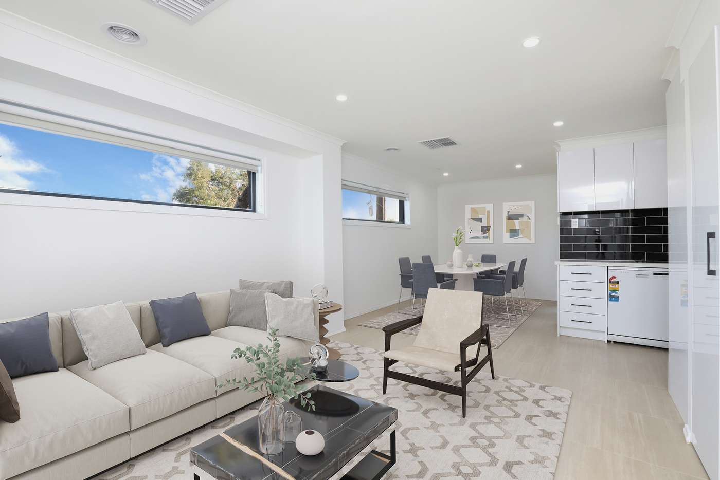 Main view of Homely townhouse listing, 388 Francis Street, Yarraville VIC 3013