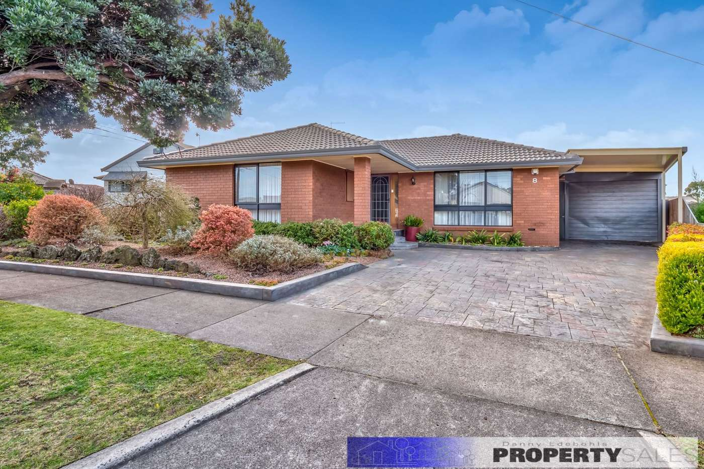 Main view of Homely house listing, 8 Tresswell Avenue, Newborough VIC 3825