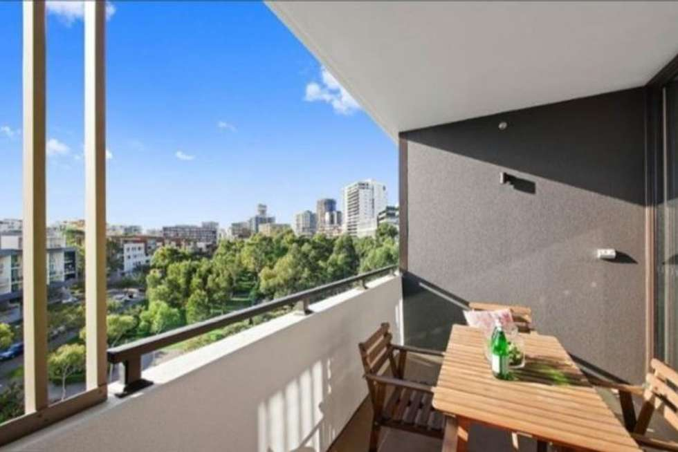 Second view of Homely apartment listing, 522/1 Hutchinson Walk, Zetland NSW 2017
