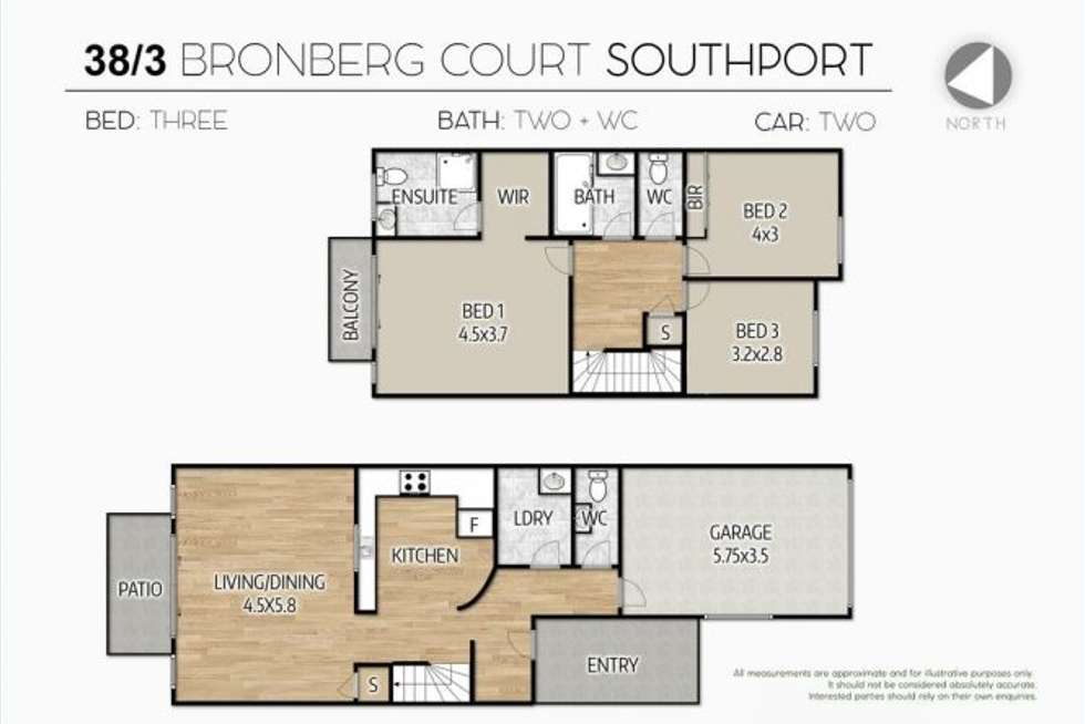 Third view of Homely apartment listing, Unit 38/3 Bronberg Court, Southport QLD 4215