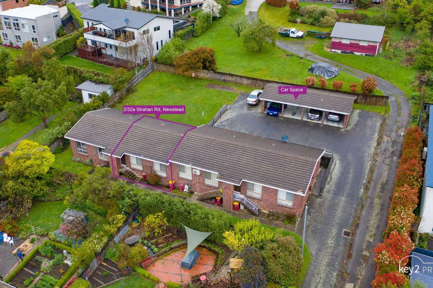 Main view of Homely unit listing, 2/32a Strahan Road, Newstead TAS 7250