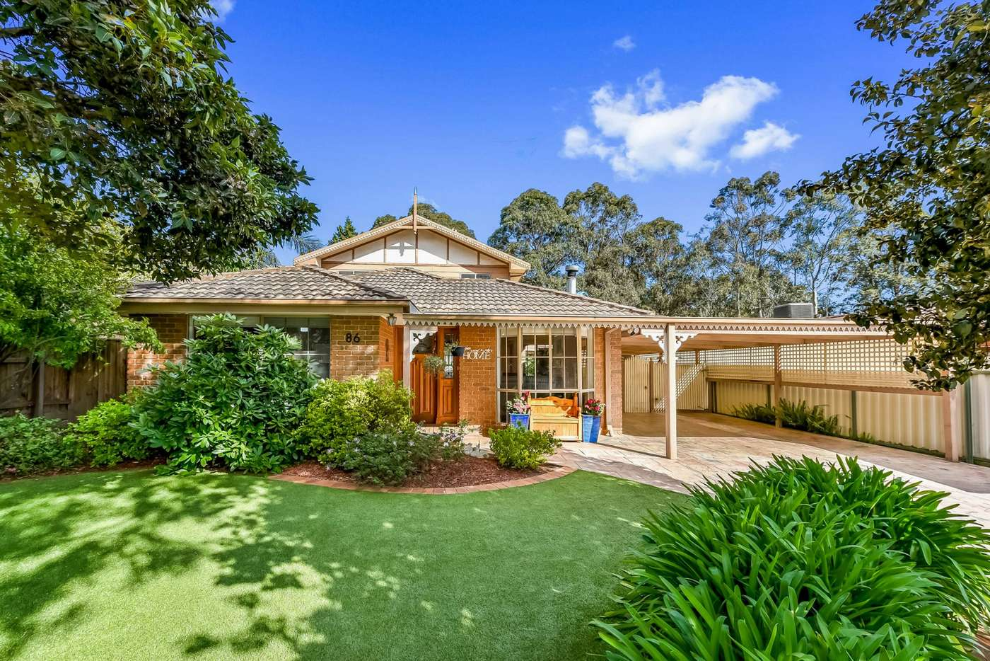 Main view of Homely house listing, 86 Bridgewater Way, Rowville VIC 3178