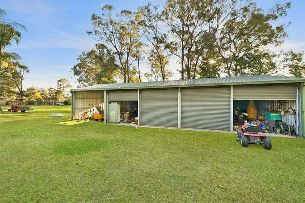 Second view of Homely acreageSemiRural listing, 135-141 Sheredan Road, Castlereagh NSW 2749