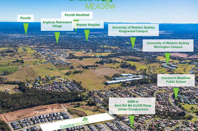, CADDENS MEADOW, Claremont Meadows NSW 2747
