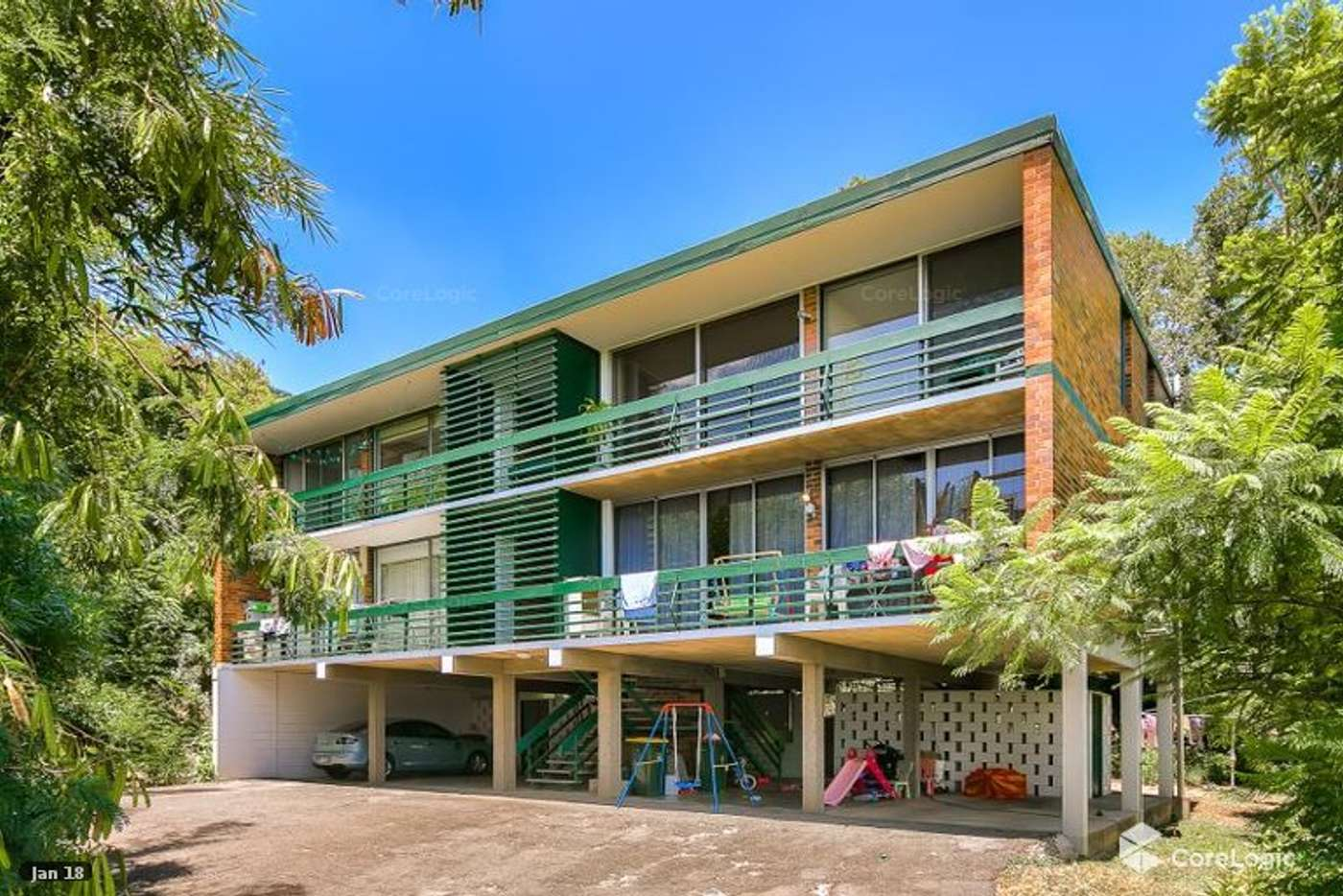 Main view of Homely unit listing, 2/55 Bishop Street, St Lucia QLD 4067