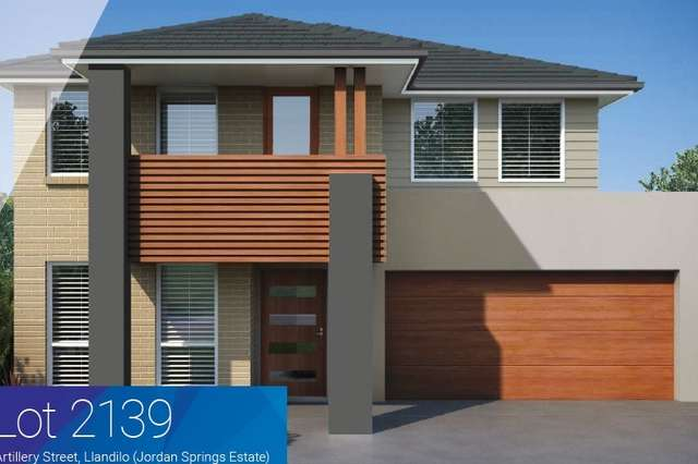 Lot 2139 Artillery St, Jordan Springs NSW 2747