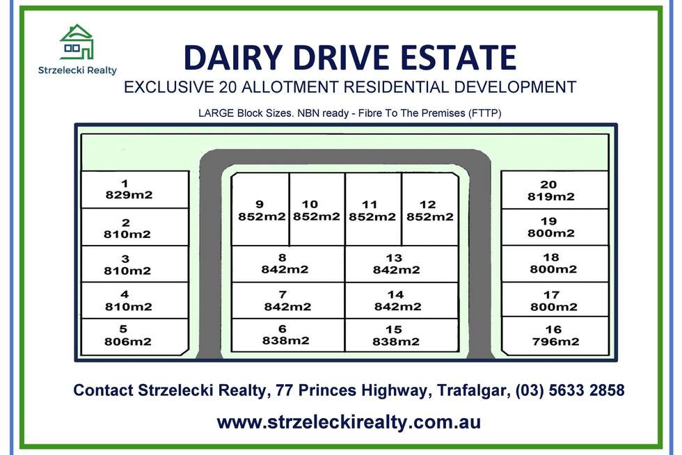 Second view of Homely residentialLand listing, LOT 7 Dairy Drive Estate, Trafalgar VIC 3824