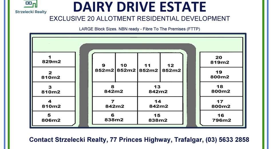 LOT 17 Dairy Drive Estate