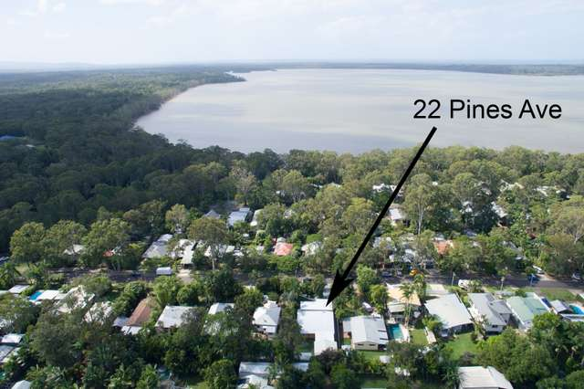 22 Pines Ave, Cooroibah QLD 4565