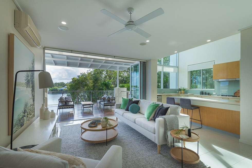 Second view of Homely apartment listing, Unit 6/20 Anchorage Cct, Twin Waters QLD 4564