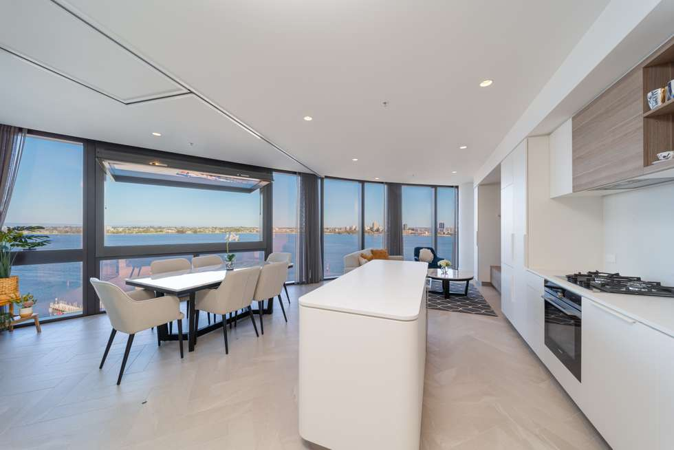 Second view of Homely apartment listing, 1101/11 Barrack Square, Perth WA 6000
