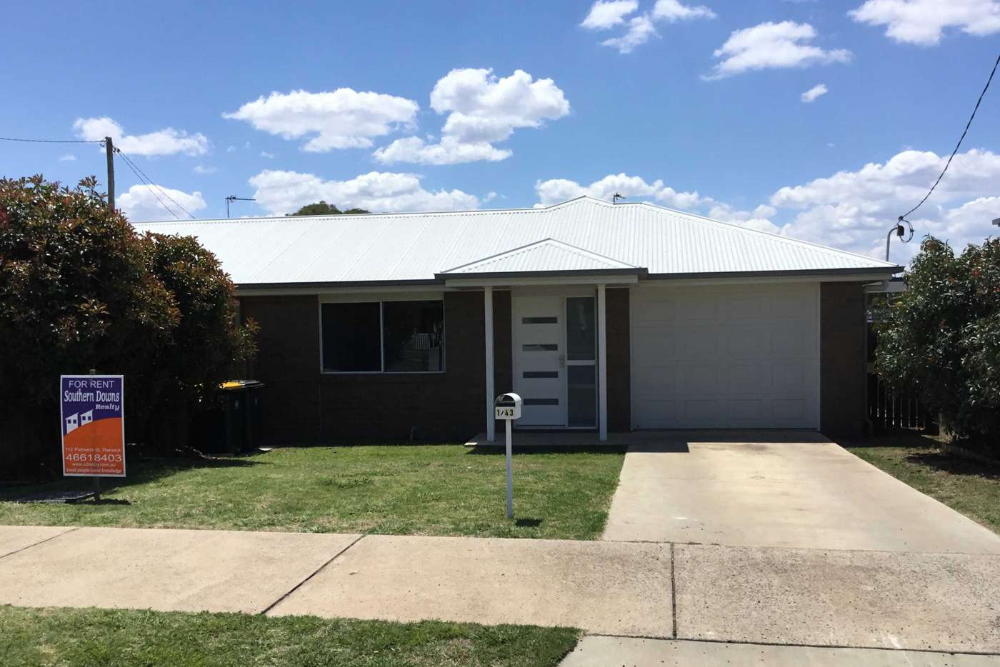 Main view of Homely house listing, 1/43 Pratten Street, Warwick QLD 4370