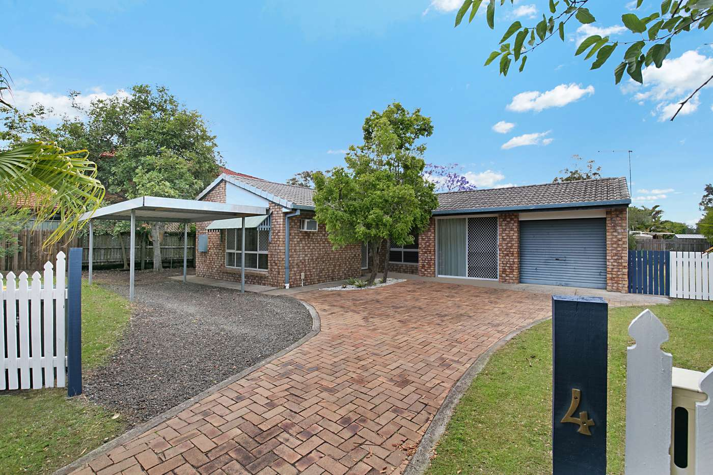 Main view of Homely house listing, 4 Gregwal Ct, Oxley QLD 4075
