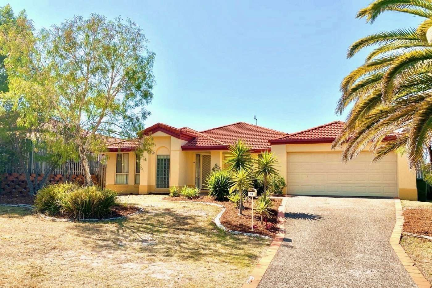 Main view of Homely house listing, 15 Greensborough Crescent, Parkwood QLD 4214
