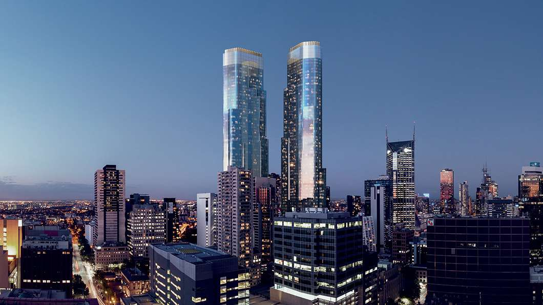 Main view of Homely apartment listing, 1007/350 Queen Street, Melbourne, VIC 3000