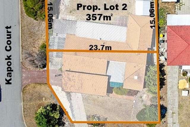 Prop Lot 2, 21 Wirilda Way, Parkwood WA 6147