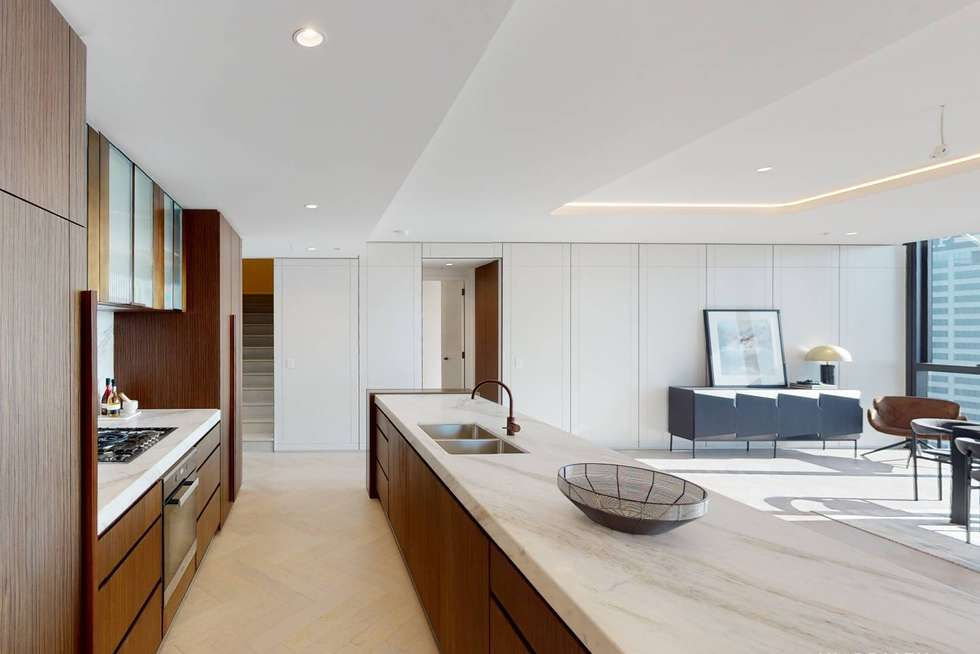 Second view of Homely apartment listing, Unit 5602/464 Collins St, Melbourne VIC 3000