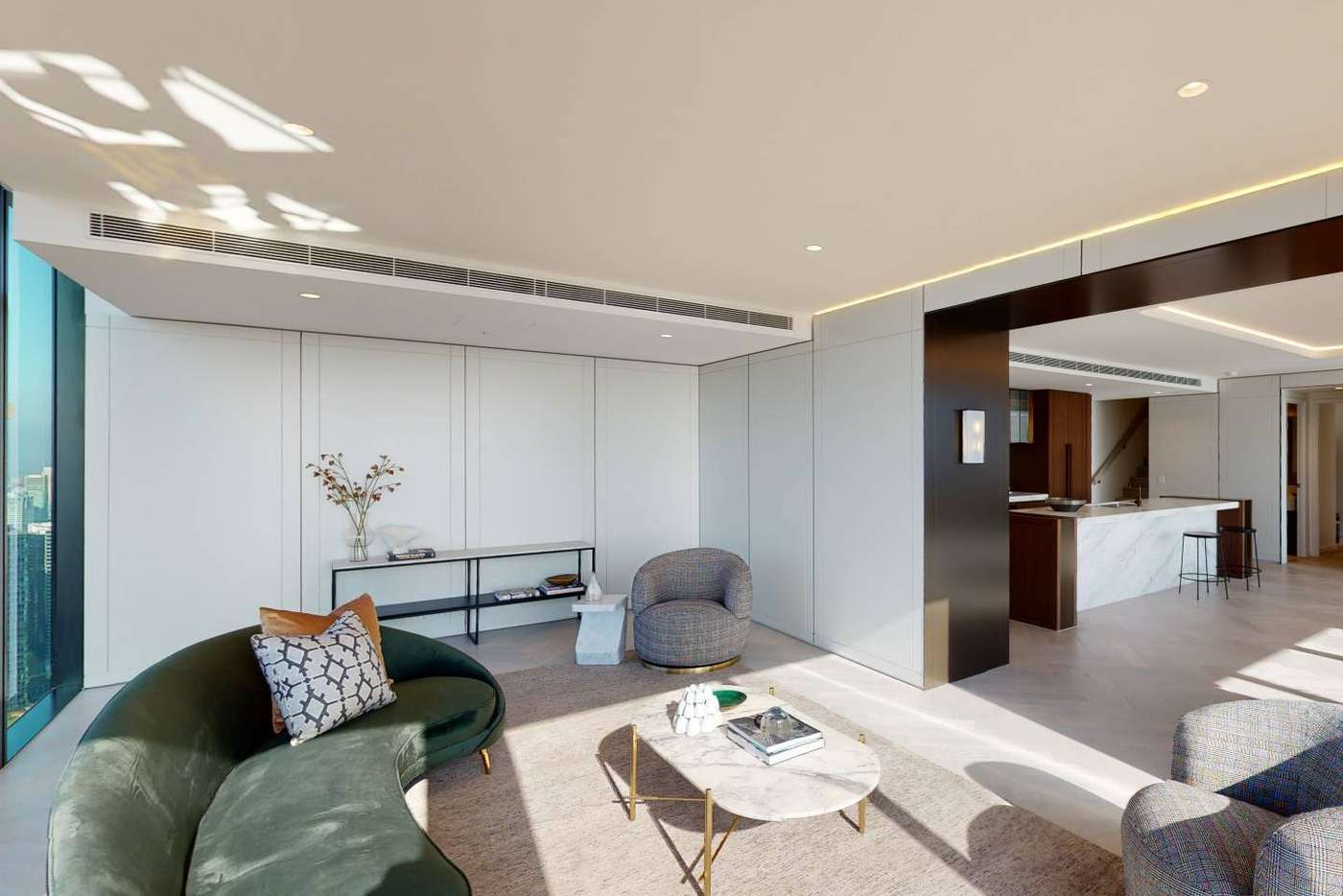 Sixth view of Homely apartment listing, Unit 5602/464 Collins St, Melbourne VIC 3000