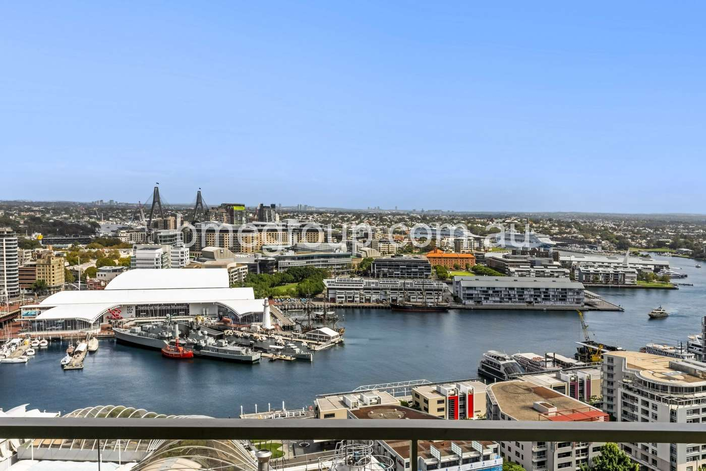 Main view of Homely apartment listing, Level 23, 361-363 Kent St, Sydney NSW 2000
