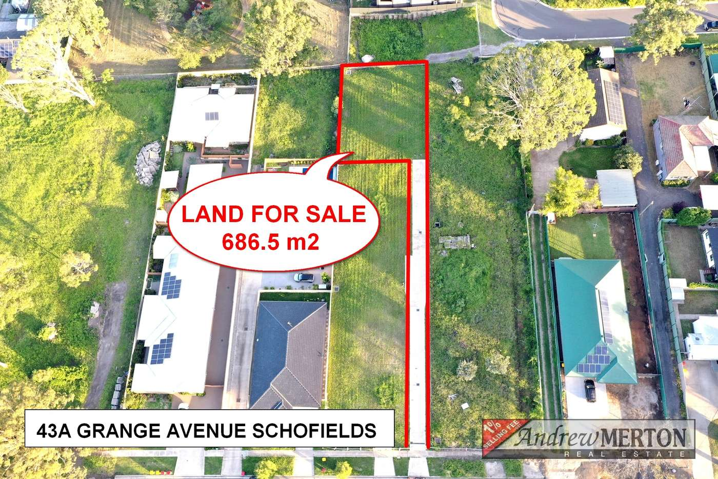 Main view of Homely residentialLand listing, 43A Grange Ave, Schofields NSW 2762