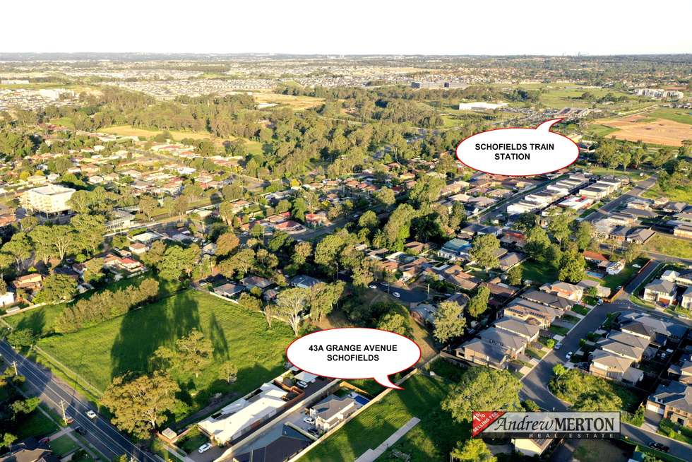 Second view of Homely residentialLand listing, 43A Grange Ave, Schofields NSW 2762