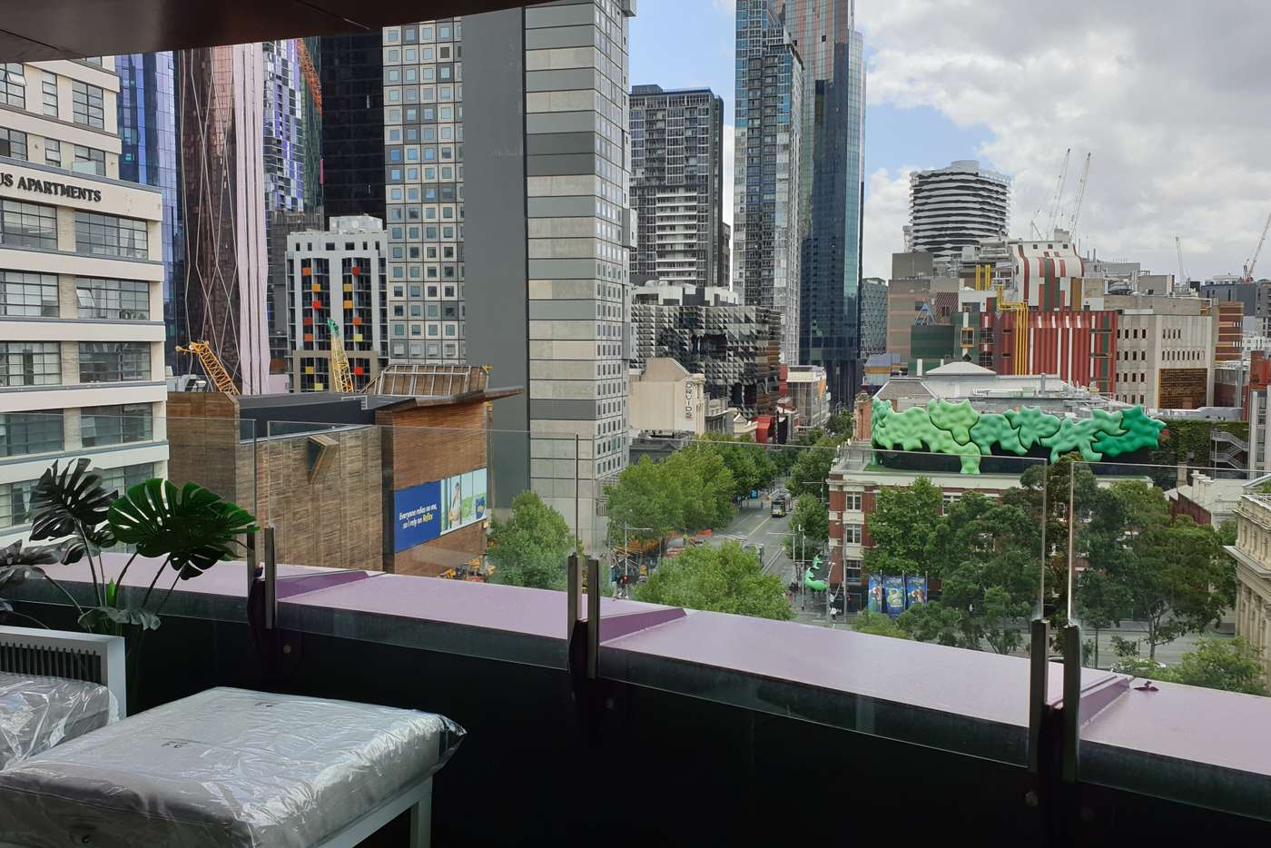 Main view of Homely apartment listing, 300 Swanston St, Melbourne VIC 3000