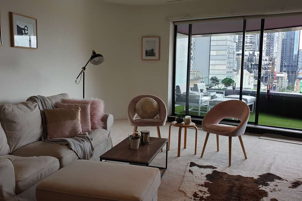 Second view of Homely apartment listing, 300 Swanston St, Melbourne VIC 3000