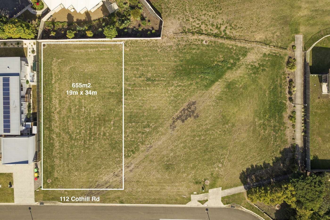 Main view of Homely residentialLand listing, 112 Cothill Rd, Silkstone QLD 4304