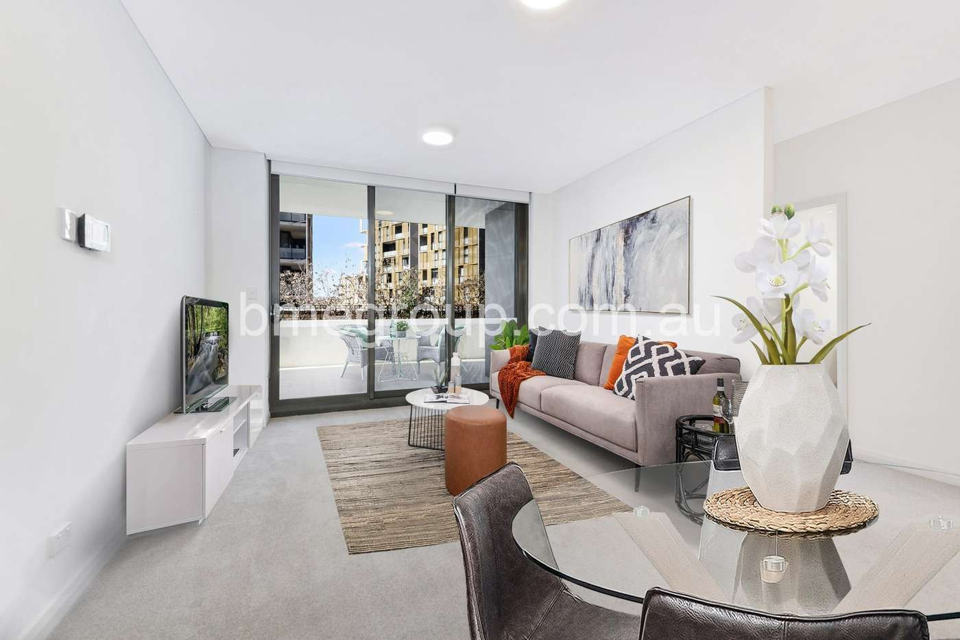 Main view of Homely apartment listing, Unit 402/57 Hill Rd, Wentworth Point NSW 2127