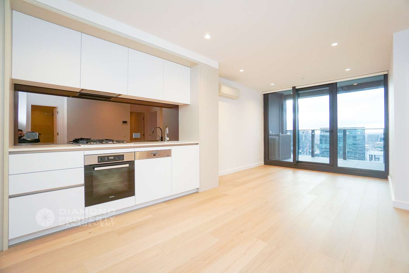 Main view of Homely apartment listing, 1616/628 Flinders Street, Docklands VIC 3008
