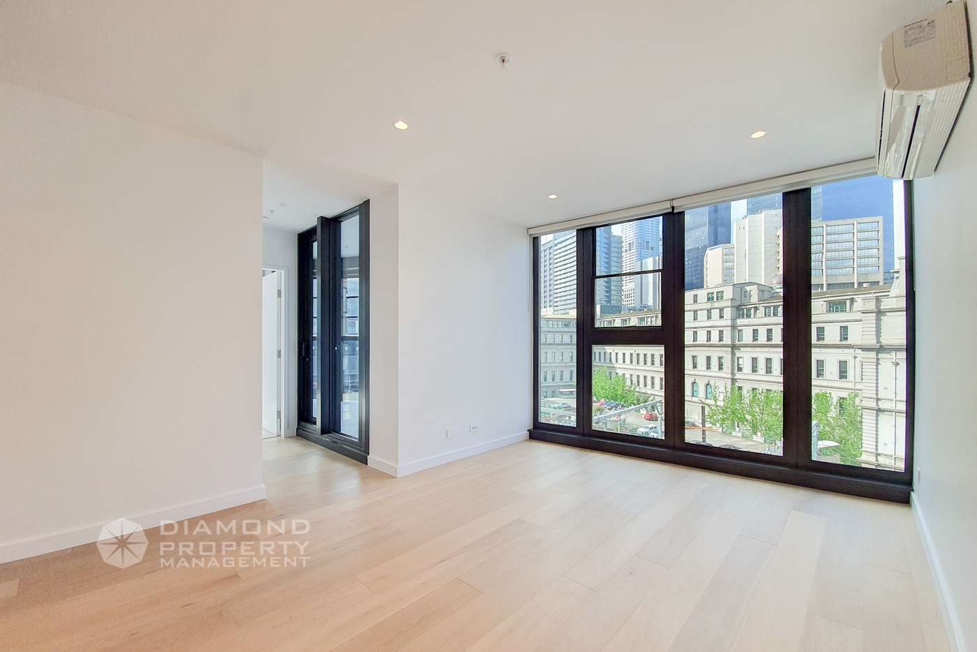 Main view of Homely apartment listing, 302/628 Flinders Street, Docklands VIC 3008