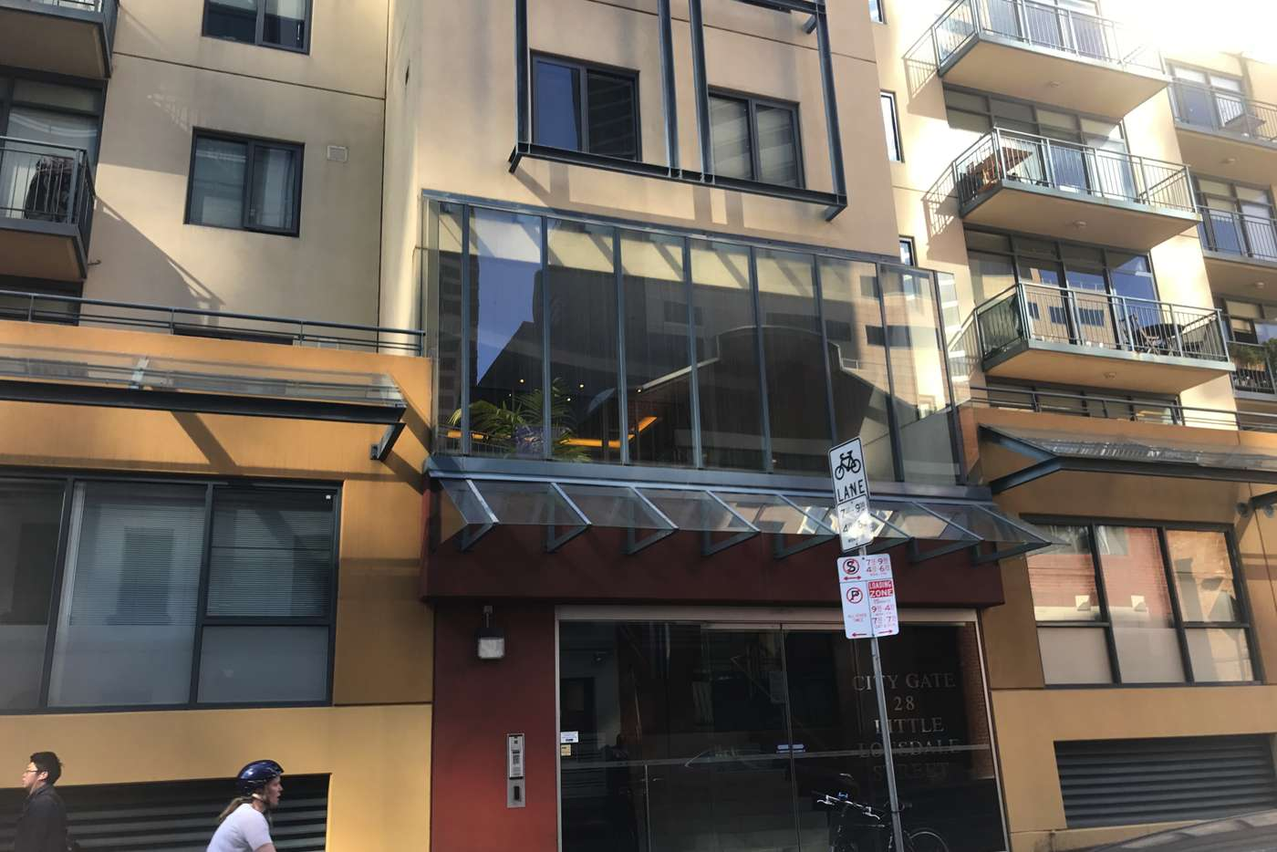 Main view of Homely apartment listing, Unit 220/28 Little Lonsdale St, Melbourne VIC 3000