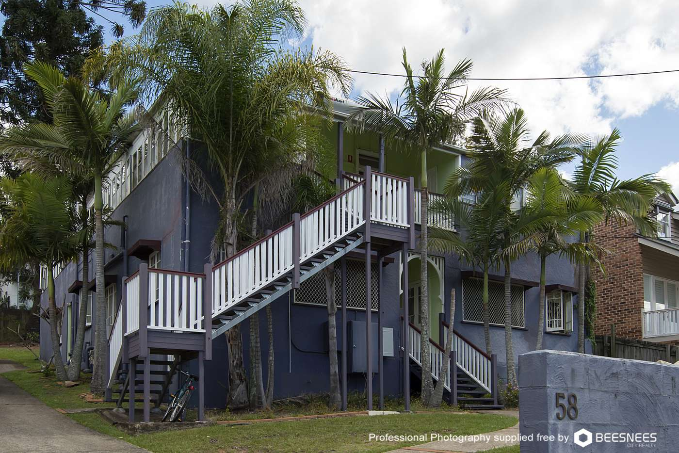 Main view of Homely apartment listing, 11/58 Markwell St, Auchenflower QLD 4066