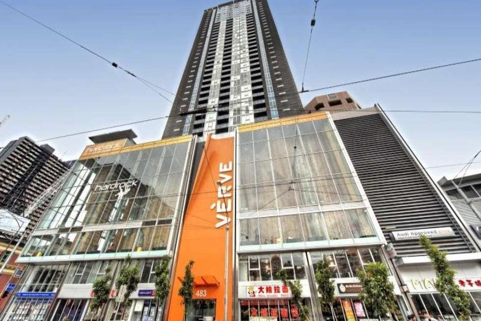 Third view of Homely apartment listing, 1604/483 Swanston St, Melbourne VIC 3000