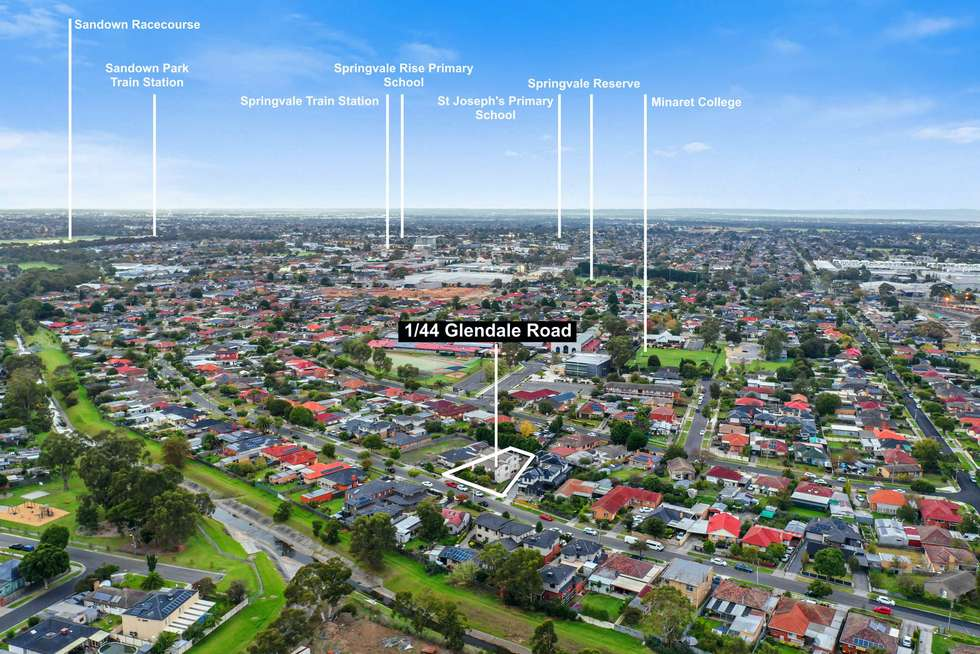 Second view of Homely unit listing, Unit 1/44 Glendale Rd, Springvale VIC 3171