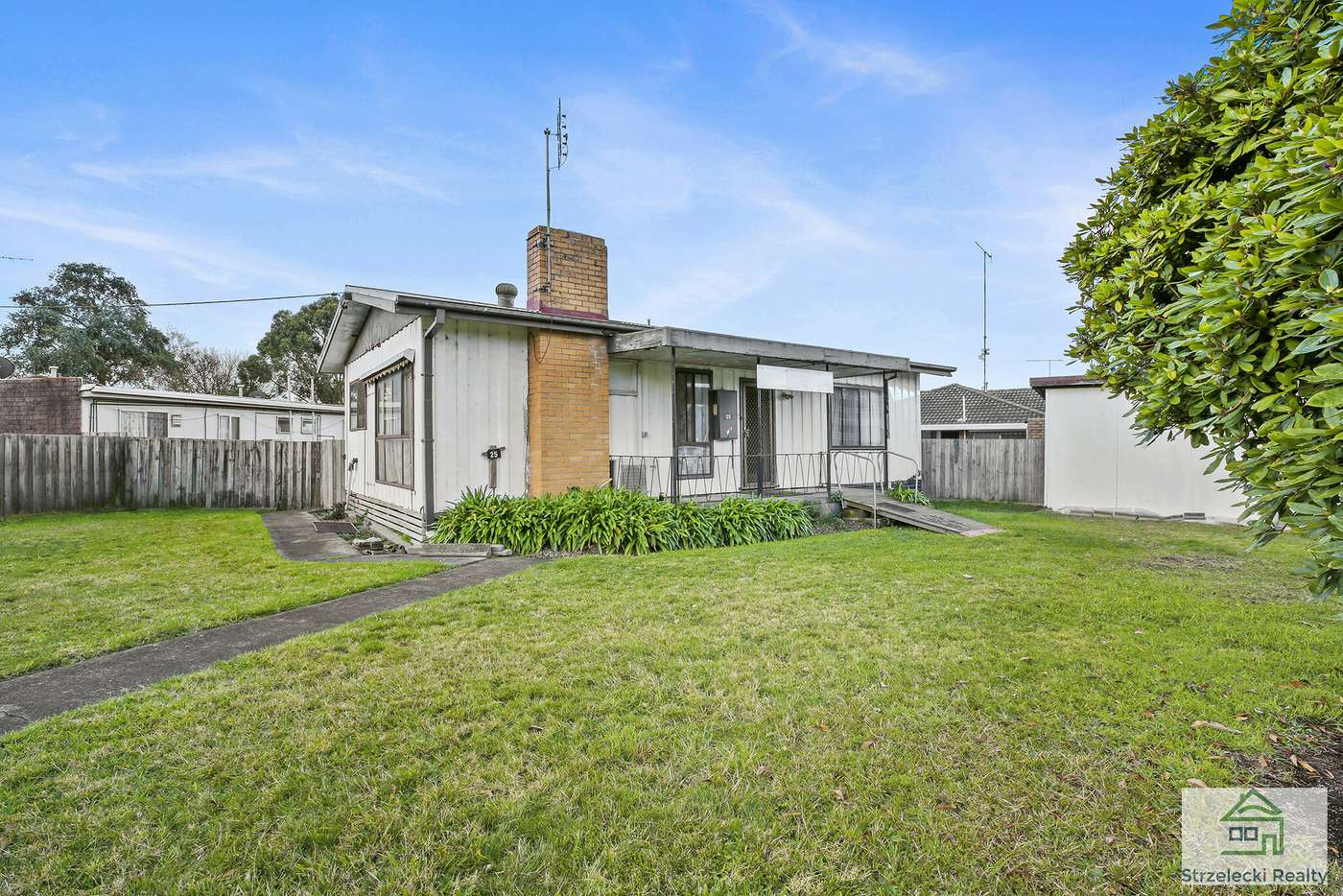 Main view of Homely house listing, 25 Bennett St, Moe VIC 3825