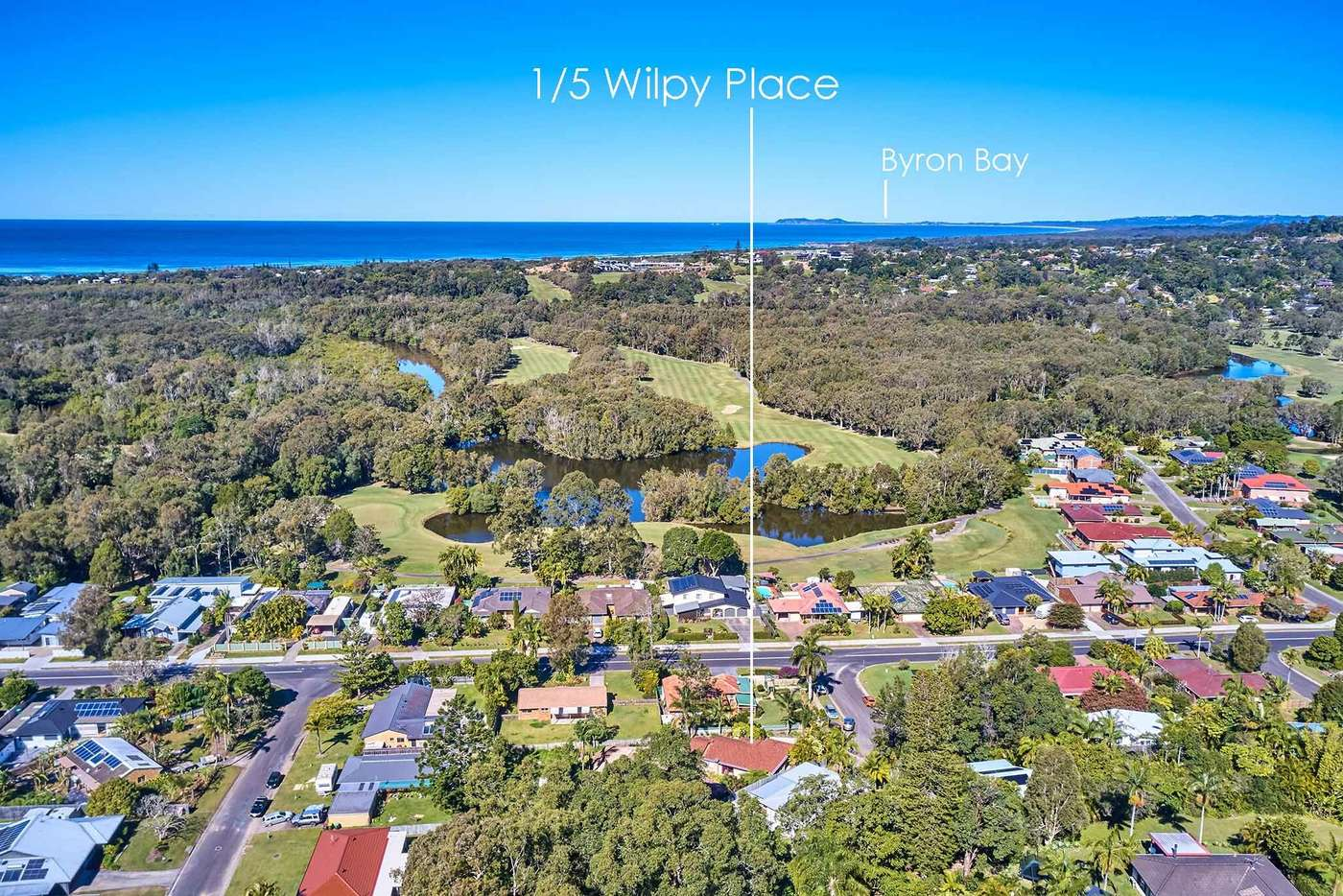 Main view of Homely house listing, 1/5 Wilpy Pl, Ocean Shores NSW 2483