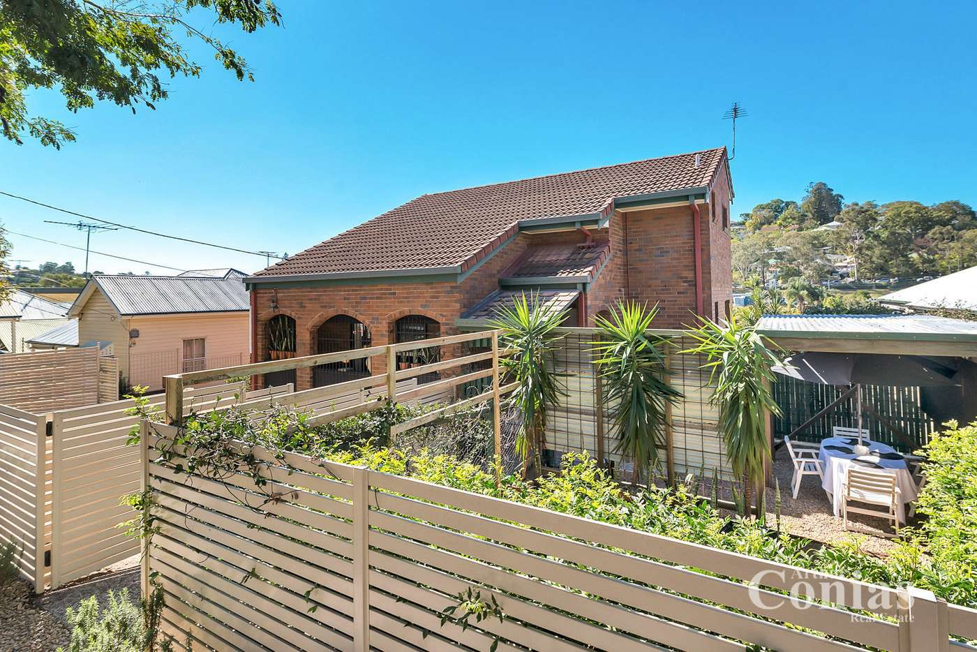 Main view of Homely townhouse listing, 1/15 Ward Street, Newmarket QLD 4051