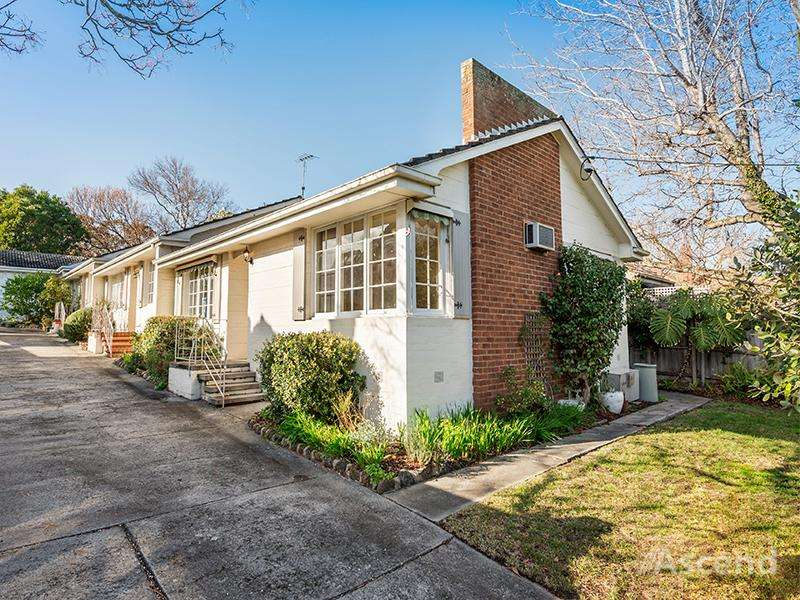 Main view of Homely unit listing, 1/28 Milton Street, Canterbury, VIC 3126