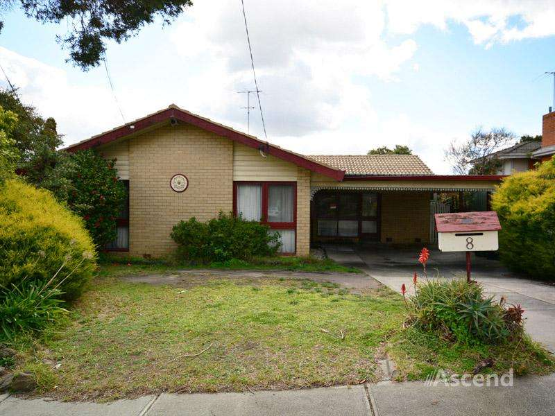Main view of Homely house listing, 8 Lansell Drive, Doncaster, VIC 3108