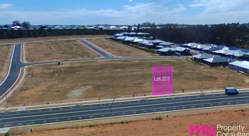 Lot 207 Hampshire Boulevard, Spring Farm NSW 2570