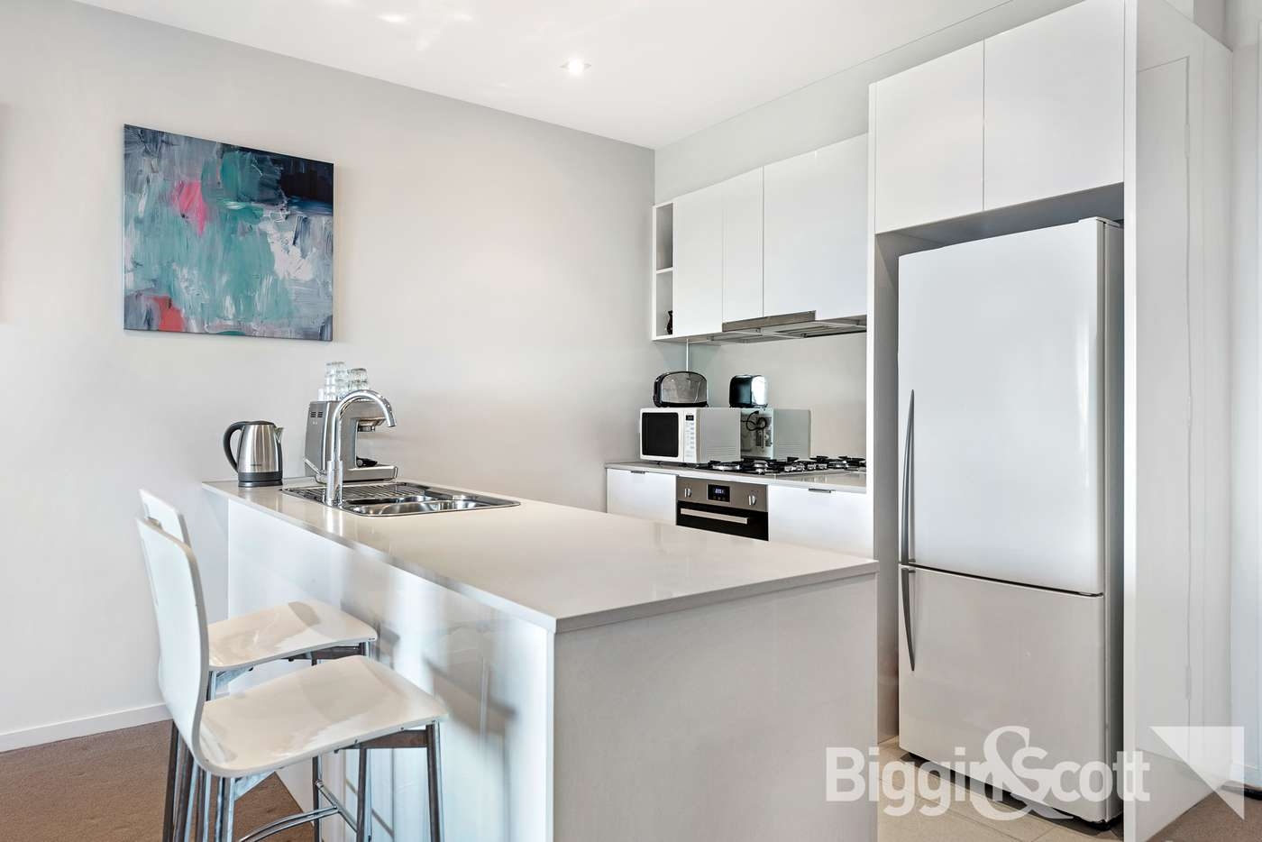 Fifth view of Homely apartment listing, 203/20 Pier Lane, Maribyrnong VIC 3032