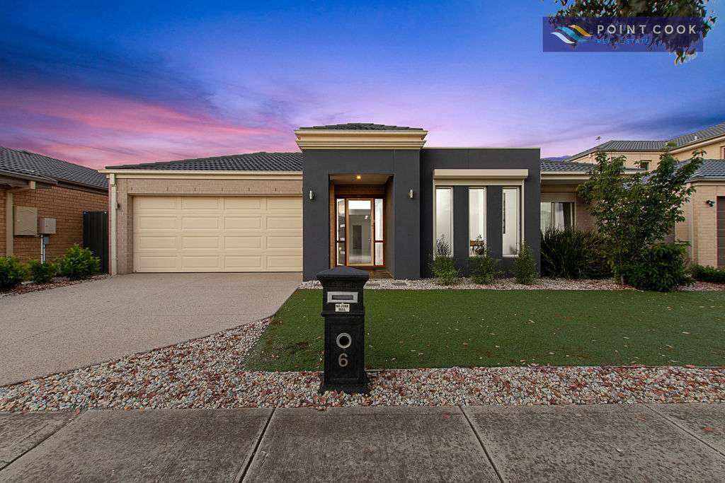 Main view of Homely house listing, 6 Grandiflora Grove, Point Cook, VIC 3030