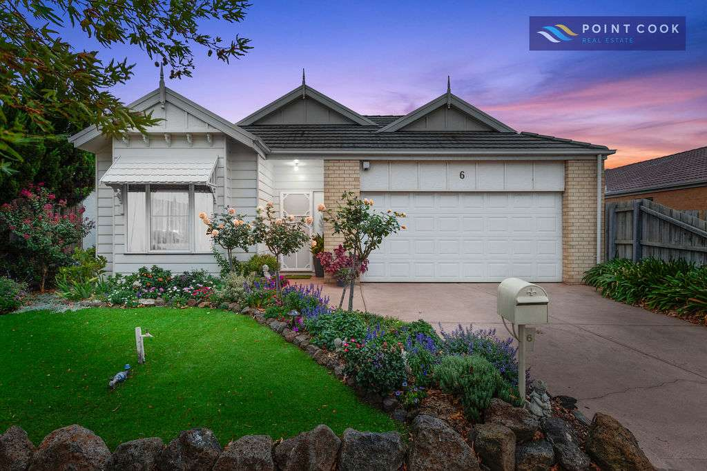 Main view of Homely house listing, 6 Howards Way, Point Cook, VIC 3030