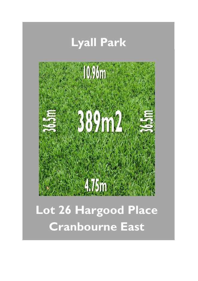 Main view of Homely  listing, Lot 26 Hargood Place, Cranbourne East, VIC 3977