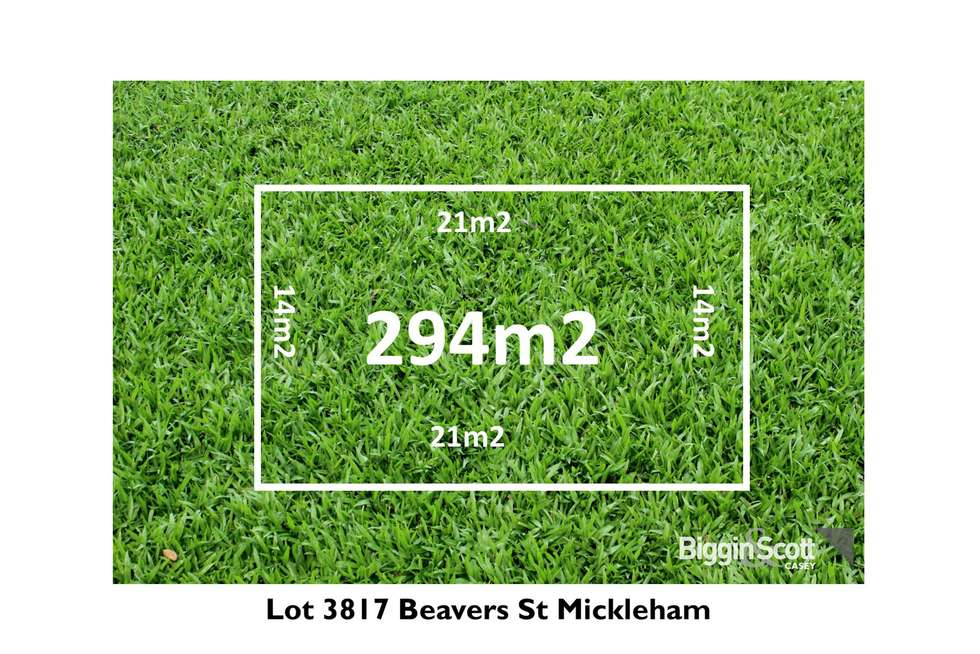 Lot 3817 Beavers  Street, Mickleham VIC 3064