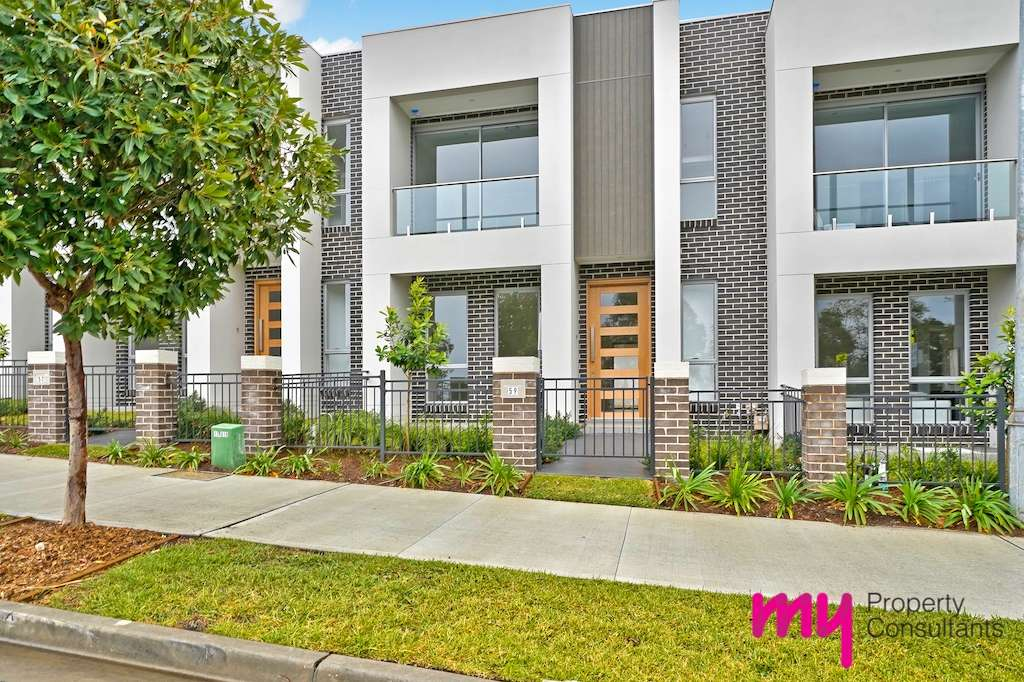 Main view of Homely terrace listing, 57 Central Avenue, Oran Park, NSW 2570