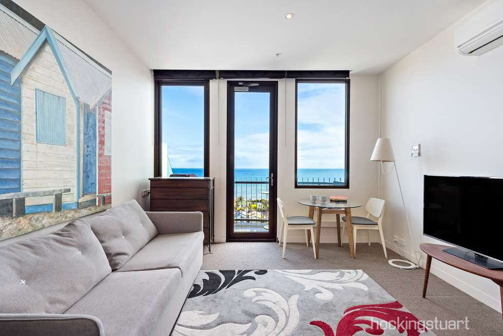 Second view of Homely apartment listing, 906/435 Nepean Highway, Frankston VIC 3199